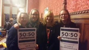 In solidarity: Rosie Duffield MP