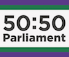 50:50 Parliament Logo (small)