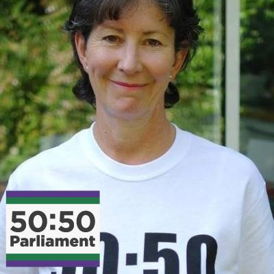 Frances Scott, Founder & Director 50:50 Parliament 25 March 2020